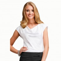 Hotel White Women Dress Shirt