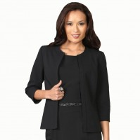Black Business Suit Woman