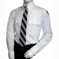 White Security Shirts