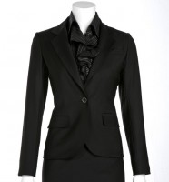 Womens Pinstripe Suit