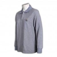 polo shirts men grey