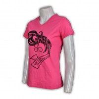 for women pink t shirts