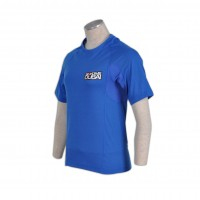 men blue t shirts	printed
