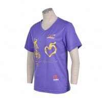 purple t shirt for women