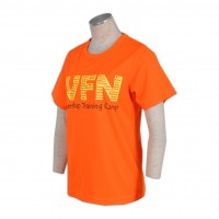 orange t shirts for women