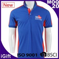 blue polo t shirt for men