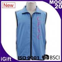 blue safety vests for man