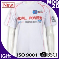 white t shirts with logo for team