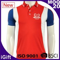 red-white-blue polo shirts