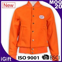 orange basketball jacket with bottons