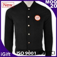 cool black basketball jacket for man