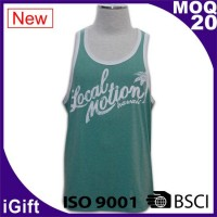 green vests t shirts with logo