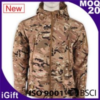 zipper hoody camouflage jacket
