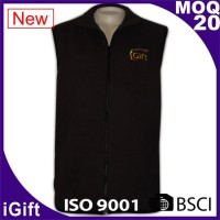 black vest jacket with igift logo
