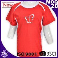 BSCI/ISO9001 AU design custom fashion colorful tshirt
