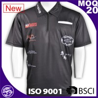 Plain sports uniform mens polo t shirt small MOQ Custom