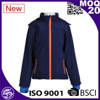 Blue Waterproof Jacket For Sport