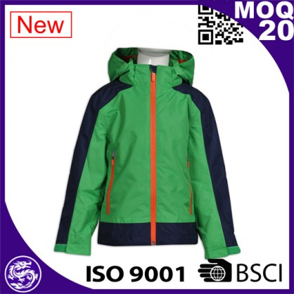 custom patch soft shell fabric fleece inside waterproof soft shell pullover jacket