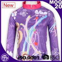 Woman Biking Sportwear Quick Dryfit Function Funny Cycling Jersey