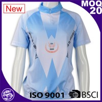 Hot sales new design sublimation newest cheap custom cycling uniform