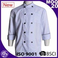 Professional Restaurant Cook Uniform Design Chef Jacket