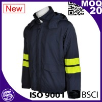 Safety Hi-Vis reflective security jacket for men