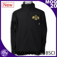 black baseball jacket with dragon logo