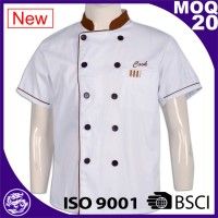 short sleeve cotton chelf uniform