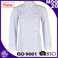 Women Chef Coat 100% Cotton custom chef uniforms