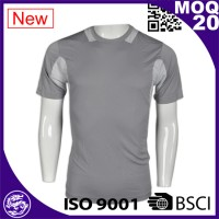 Grey short sleeve customed road bike jersey