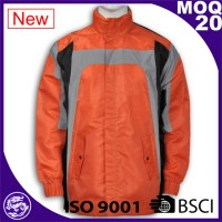 Garment industry waterproof Hi-vi Hisibility Jacket