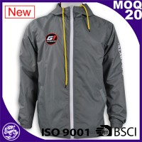 grey waterproof men sport jacket