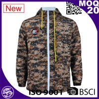camouflage men Waterproof sport jacket