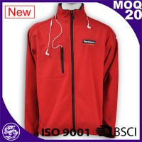 unisex red Waterproof sport jacket