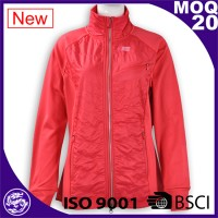 factories safety running red softshell jacket