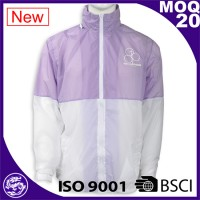 reflective windbreaker woman jacket