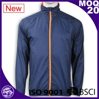 Blue waterproot men sport clothing jacket