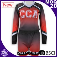 Long sleeve women cheerleader Uniform