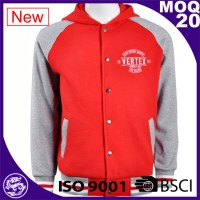 baseball jacket with hood