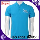 Polo shirt is dry fit action and custom printing T-shirt