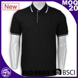 Factory Wholesale new design color combination polo t shirt