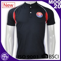 BSCI China factory sports wear mens clothing polo classic