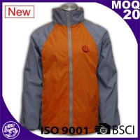 autumn jacket ,grey orange windbreaker clothing