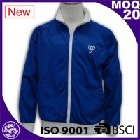Blue Color light weight Water Resist windbreaker jacket