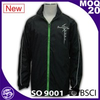 Black men waterproof  basketball jacket