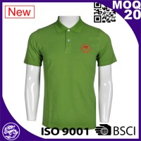 wholesale new design breathable uniform polo shirts