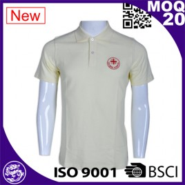2017 new style hot sale short sleeved polo shirt