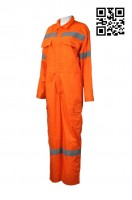 Orange Industrial Uniform