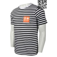 Personalized Striped T-Shirt Manufacturers