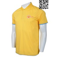 Custom Order Mens Yellow Polo